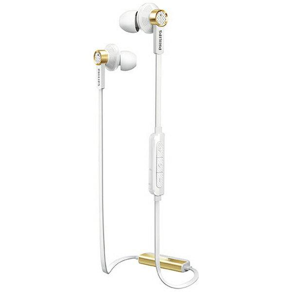 【送料無料】 フィリップス Bluetooth対応 カナル型イヤホン (ホワイト) TX2BTWT
