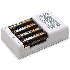 タミヤ TAMIYA 【ミニ四駆】単3形ニッケル水素電池ネオチャンプ(4本)と急速充電器PROII