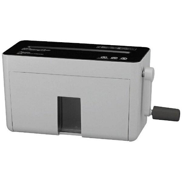 アスカ ASKA HM02 ハンドシュレッダー グレー [マイクロカット /A4サイズ][HM02GR]