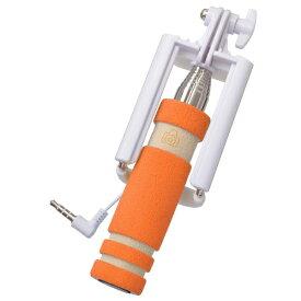 エツミ ETSUMI ミニセルフィースティックオレンジ V-81354[V81354ミニセルフィースティックOR]