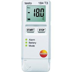 テストー Testo テストー 温度データロガ TESTO184T3[TESTO184T3]