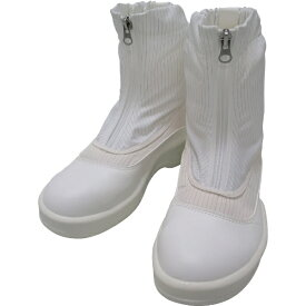 ゴールドウィン GOLDWIN ゴールドウイン 静電安全靴セミロングブーツ ホワイト 26.0cm PA9875−W−26.0