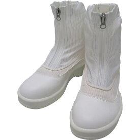 ゴールドウィン GOLDWIN ゴールドウイン 静電安全靴セミロングブーツ ホワイト 25.0cm PA9875−W−25.0