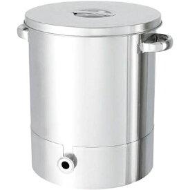 日東金属工業 NITTO KINZOKU KOGYO 日東 ステンレスタンク片テーパー型汎用容器 35L KTT−ST−36《※画像はイメージです。実際の商品とは異なります》