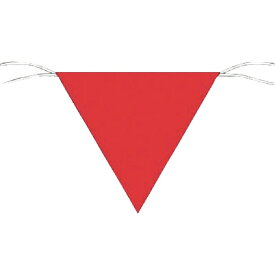 つくし工房 TSUKUSHI KOBO つくし 三角旗標識 赤無地 651−A