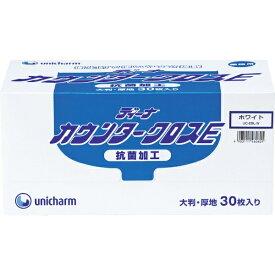 ユニチャーム unicharm ユニ・チャーム ディーナ GディーナカウンタークロスE 大判厚地 ホワイト 46060 (1箱30枚)