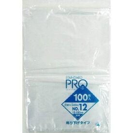日本サニパック SANIPAK サニパック L12Hスタンダートポリ袋吊り下げタイプ(0.03)12号 L12H−CL (1冊100枚)