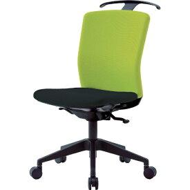 アイリスチトセ IRIS CHITOSE アイリスチトセ ハンガー付回転椅子(シンクロロッキング) グリーン/ブラック HG−X−CKR−S46M0−F−LGY