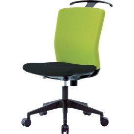 アイリスチトセ IRIS CHITOSE アイリスチトセ ハンガー付回転椅子(フリーロッキング) グリーン/ブラック HG−X−CKR−46M0−F−LGN
