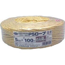 ユタカメイク YUTAKA ユタカ PSロープ い草色 5mmx100m M−215IG