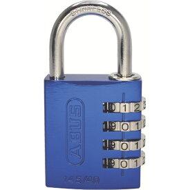 アバス ABUS ナンバー可変式ステンレスシャックル南京錠 145IB-40 ブルー 145IB-40-BL