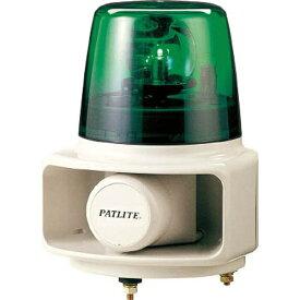 パトライト PATLITE パトライト ラッパッパホーンスピーカー一体型 RT−100A−G