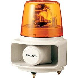 パトライト PATLITE パトライト ラッパッパホーンスピーカー一体型 RT−24A−Y