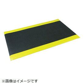ミズムジャパン MISM 快適クッションマット 6090 黒/黄 309050009《※画像はイメージです。実際の商品とは異なります》