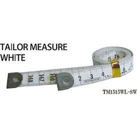 プロマート PROMART プロマート テーラーメジャー1.5m 余白有 白/白 TM1515WL−SW