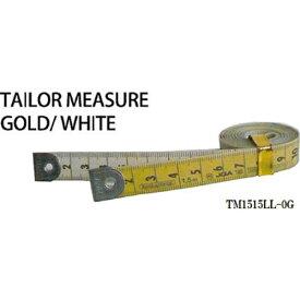 プロマート PROMART プロマート テーラーメジャー1.5m 0点 白/ゴールド TM1515LL−0G