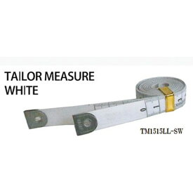 プロマート PROMART プロマート テーラーメジャー1.5m 余白有 白/白 TM1515LL−SW