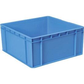 DICプラスチック ディーアイシープラスチック DIC PC型コンテナPC−60 外寸:W550XD550XH258 青 PC−60
