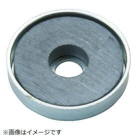 トラスコ中山 TRUSCO キャップ付フェライト磁石 外径66mmX厚み9.8mm 1個入 TFC66RA−1P