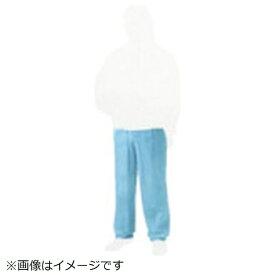 トラスコ中山 TRUSCO 不織布使い捨て保護服ズボン Lサイズ ブルー TPC−Z−L−B