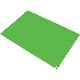 トラスコ中山 TRUSCO 粘着クリーンマット 600X450MM グリーン 1シート CM6045−1GN (1袋30枚)