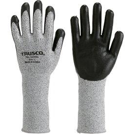 トラスコ中山 TRUSCO HPPE手袋ニトリル手のひらコートロング L TGL−5595KL−L