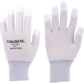 トラスコ中山 TRUSCO カーボン・ナイロンインナー手袋PU指先コート M TGL−9011−M