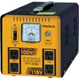 トラスコ中山 三相200V TRUSCO ポータブルトランス 30A 3kVA 降圧・昇圧兼用型 TPT−30BD