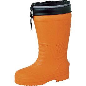 ジーベック XEBEC ジーベック EVAめちゃ軽防寒長靴 85712 オレンジ 3L 85712−82−3L