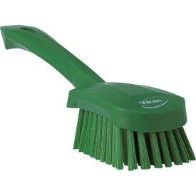 キョーワクリーン KYOWA CLEAN Vikan ショートハンドルブラシ 4192 グリーン 41922