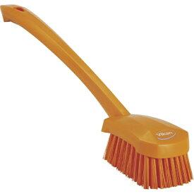 キョーワクリーン KYOWA CLEAN Vikan ロングハンドルブラシ 4186 オレンジ 41867