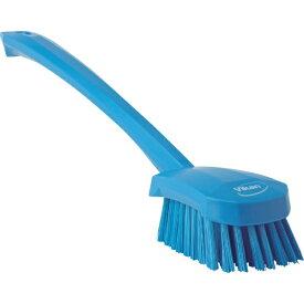 キョーワクリーン KYOWA CLEAN Vikan ロングハンドルブラシ 4186 ブルー 41863