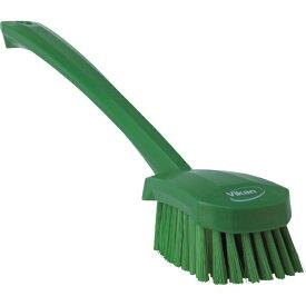 キョーワクリーン KYOWA CLEAN Vikan ロングハンドルブラシ 4182 グリーン 41822