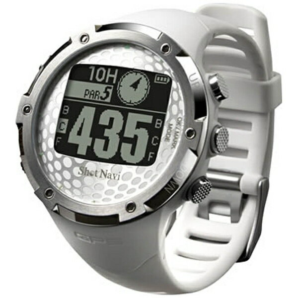 【送料無料】 ショットナビ 腕時計型GPSゴルフナビ ShotNavi W1-FW(ホワイト)