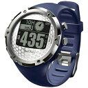 【送料無料】 ショットナビ 腕時計型GPSゴルフナビ ShotNavi W1-FW(ネイビー)