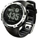 【送料無料】 ショットナビ 腕時計型GPSゴルフナビ ShotNavi W1-FW(ブラック)