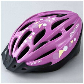 ブリヂストン BRIDGESTONE 子供用ヘルメット エアリオヘルメットM(ピンク/54〜56cm) CHA5456