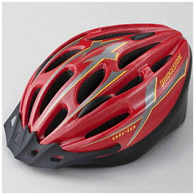 ブリヂストン BRIDGESTONE 子供用ヘルメット エアリオヘルメットM(レッド/54〜56cm) CHA5456