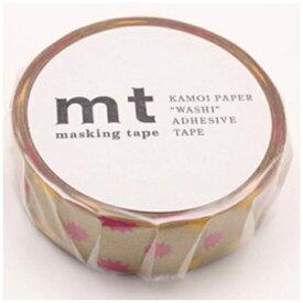 カモ井加工紙 KAMOI mt 1P マスキングテープ(キラキラ・ゴールド) MT01D295
