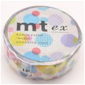 カモ井加工紙 KAMOI mt ex マスキングテープ(ランダムドット) MTEX1P108