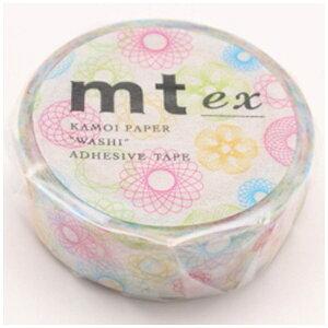 カモ井加工紙 KAMOI mt ex マスキングテープ(スピログラフ) MTEX1P110