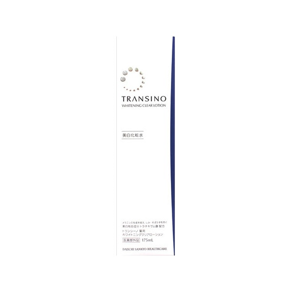 第一三共ヘルスケア トランシーノ薬用ホワイトニングクリアローション (美白化粧水) 175ml