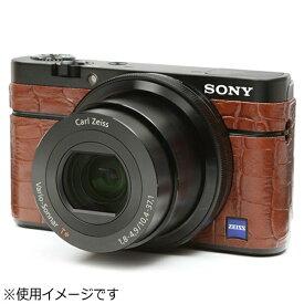 ジャパンホビーツール Japan Hobby Tool ソニーCyber-Shot DSC-RX100用張り革キット #8030クロコブラウン[#8030クロコブラウン]