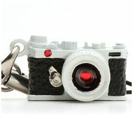 ジャパンホビーツール Japan Hobby Tool ミニチュアカメラストラップレンジファインダータイプ ホワイト/レンズ スワロフスキー