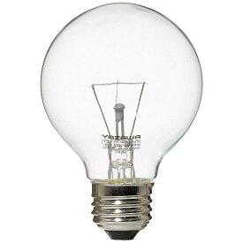 ヤザワ YAZAWA GC100V57W70 電球 クリア [E26 /電球色 /1個 /60W相当 /ボール電球形][GC100V57W70]