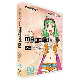 インターネット INTERNET 〔Win・Mac版〕 VOCALOID 4 Library Megpoid V4 Power[VOCALOID4LIBRARYM]