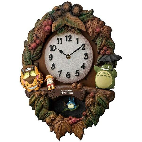 リズム時計 RHYTHM 掛け時計 「トトロM429」 4MJ429M-06[4MJ429M06]