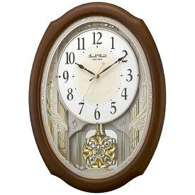 リズム時計 RHYTHM 掛け時計 【スモールワールドセレブレ】 4MN541RH06 [電波自動受信機能有]