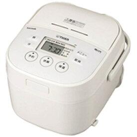 タイガー TIGER JBU-A551 炊飯器 炊きたて tacook(タクック) ホワイト [3合 /マイコン][JBUA551W] [一人暮らし 単身 単身赴任 新生活 家電]