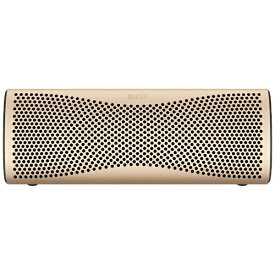 KEF ケーイーエフ ブルートゥース スピーカー ホライゾンゴールド MUO GOLD [Bluetooth対応]